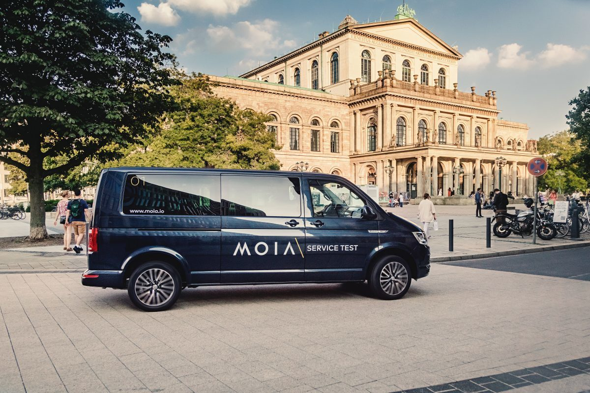 Test: MOIA in Hannover – Shuttle-on-Demand Service